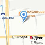 Дворец детского и юношеского творчества на карте Санкт-Петербурга