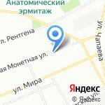 СТММАРТ на карте Санкт-Петербурга