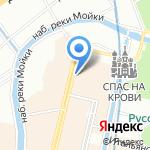 Мир-сувенир на карте Санкт-Петербурга