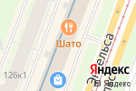 Схема проезда до компании Kriek в Санкт-Петербурге