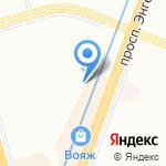 Петростройматериалы на карте Санкт-Петербурга