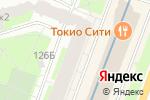 Схема проезда до компании Ткания в Санкт-Петербурге