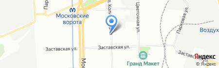 Банкомат Газпромбанк на карте Санкт-Петербурга