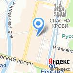 Хельсинкикафе на карте Санкт-Петербурга