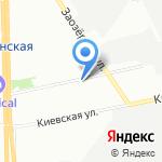 Evora на карте Санкт-Петербурга