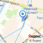 Трест-36 на карте Санкт-Петербурга