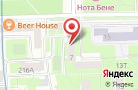 Схема проезда до компании А Квадрат в Санкт-Петербурге