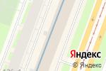 Схема проезда до компании Ultra color в Санкт-Петербурге