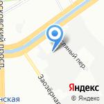 Викинг на карте Санкт-Петербурга