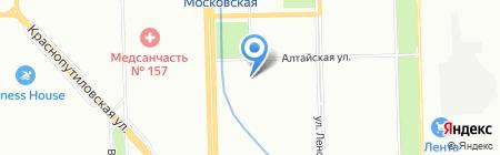 МарВик на карте Санкт-Петербурга