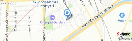 Специальная коррекционная общеобразовательная школа №522 на карте Санкт-Петербурга