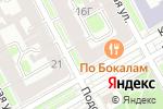Схема проезда до компании IMPRESS в Санкт-Петербурге