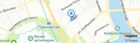 Метаморфозы на карте Санкт-Петербурга