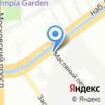 БАЛТИК-ЛАЙТ на карте Санкт-Петербурга