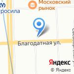 Городские курсы иностранных языков №4 на карте Санкт-Петербурга