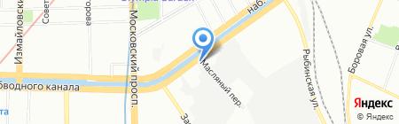 ТрастСервис на карте Санкт-Петербурга