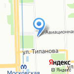 BritVa Barbershop на карте Санкт-Петербурга