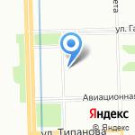 Жилкомсервис №1 Московского района на карте Санкт-Петербурга