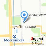 ПРОФИ-КЛИНИК на карте Санкт-Петербурга