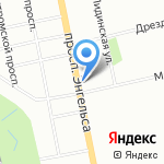 Нотариус Пилуп Е.Г. на карте Санкт-Петербурга