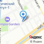 Школа №522 на карте Санкт-Петербурга
