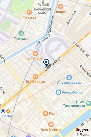 ТФ ПЯТЫЙ ОКЕАН на карте Санкт-Петербурга