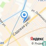 Банковский 6 на карте Санкт-Петербурга