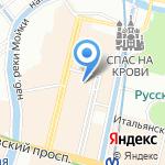 Шведская лютеранско-евангелическая церковь святой Екатерины на карте Санкт-Петербурга
