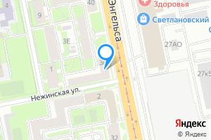 Снять трехкомнатную квартиру в Санкт-Петербурге пр-т Энгельса, 36