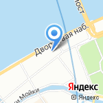 Художественная галерея им. И.И. Бецкого на карте Санкт-Петербурга