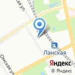 Возим всех на карте Санкт-Петербурга
