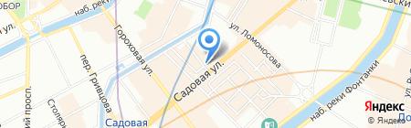 Property Selection на карте Санкт-Петербурга