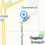 Нева-СпецКомплект на карте Санкт-Петербурга