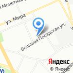 Геоизол-проект на карте Санкт-Петербурга