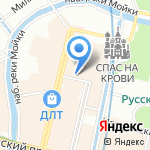 Центр на карте Санкт-Петербурга