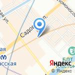 ЭТЛ-ТЕСТ на карте Санкт-Петербурга