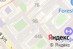 Схема проезда до компании Версия в Санкт-Петербурге