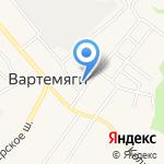 Подсолнух на карте Санкт-Петербурга