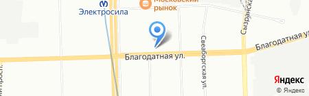 Tequila Dance на карте Санкт-Петербурга