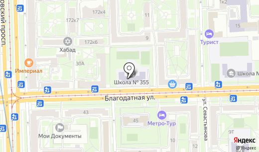 Tequila Dance. Схема проезда в Санкт-Петербурге