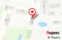 Схема проезда до компании БСИ в Большом Исаково