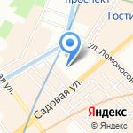Санкт-Петербургский государственный экономический университет на карте Санкт-Петербурга