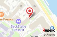 Схема проезда до компании Норшир в Санкт-Петербурге