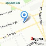 Представительство Республики Коми в Северо-Западном регионе РФ на карте Санкт-Петербурга