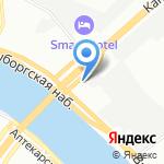 Ливин Вуд на карте Санкт-Петербурга