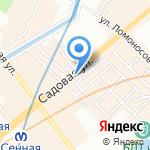 Market phones на карте Санкт-Петербурга