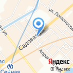 Шпилька на карте Санкт-Петербурга