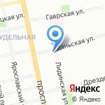 Детский сад №115 комбинированного вида на карте Санкт-Петербурга