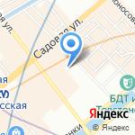 Клён на карте Санкт-Петербурга