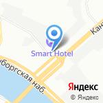 АМЕТА ПРО на карте Санкт-Петербурга
